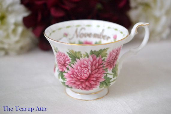 Royal Albert Replacement Teacup November English by TheTeacupAttic