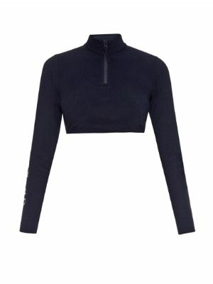 Gia cropped rash-guard top | Orlebar Brown | MATCHESFASHION.COM US