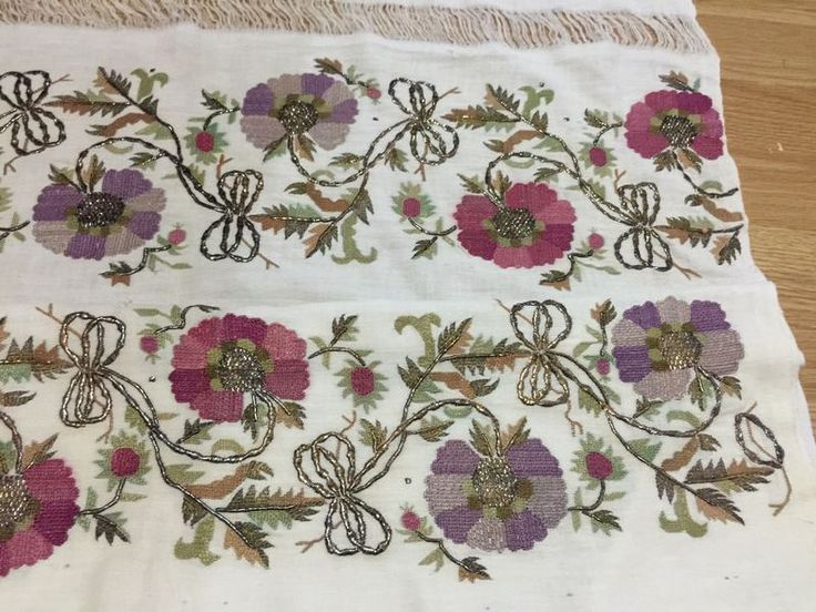 ottoman embroidery towel  large 3 5