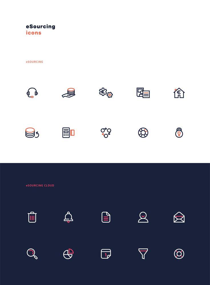 eSourcing Icon Set #pleo #pictograms #icon #icons #iconset