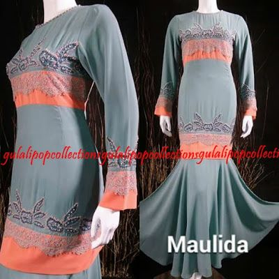 Gulali Pop Collection (d'MOzT): KURUNG MAULIDA