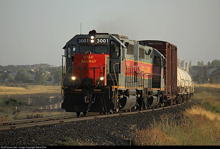 RailPictures.Net Photo: Utah Utah Railway Company EMD GP40 at Kearns, Utah by Steve Ellis