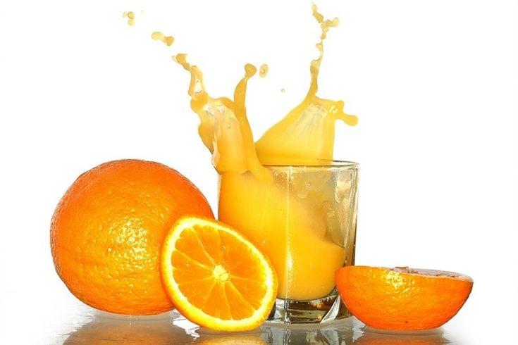 Как вывести сок апельсина с одежды