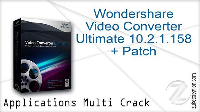 crack wondershare video converter ultimate 10.2.5