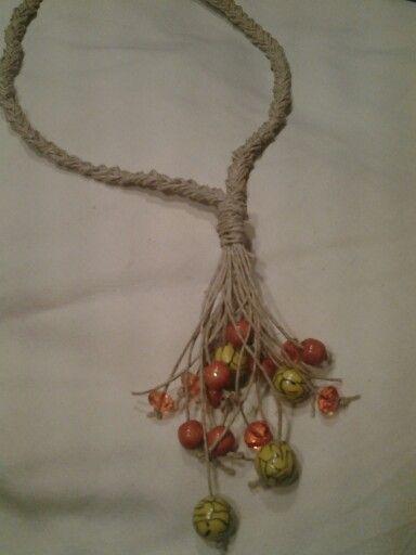 Hemp & beads...