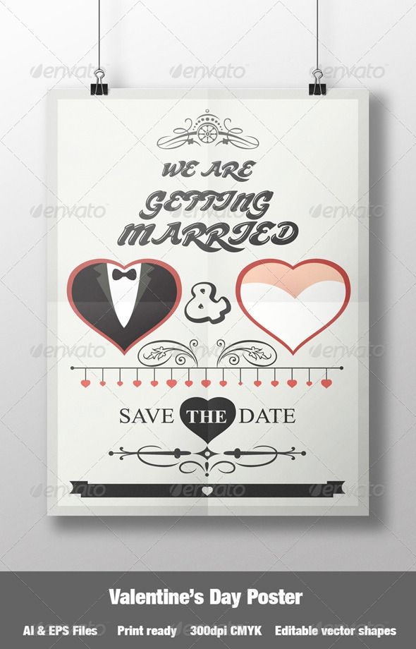 valentineu0027s day wedding poster wedding posters mockup and print valentines day posters