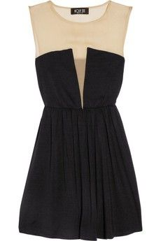 J.Crew. Classic. I so want this dress!!! put black tights with black heels and you're good to go!