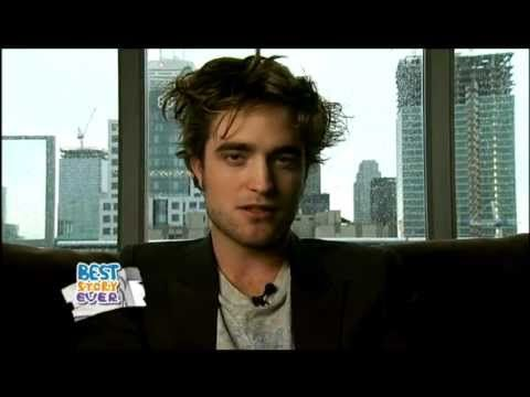 Robert Pattinson on Strombo: BEST STORY EVER 2008