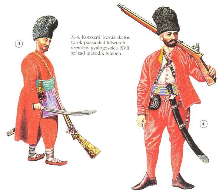 Mercenary Seimeni infantry, 17th century