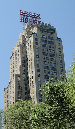 JW Marriott Essex House, NY (I stayed there when it was known as the Jumeirah Essex House)