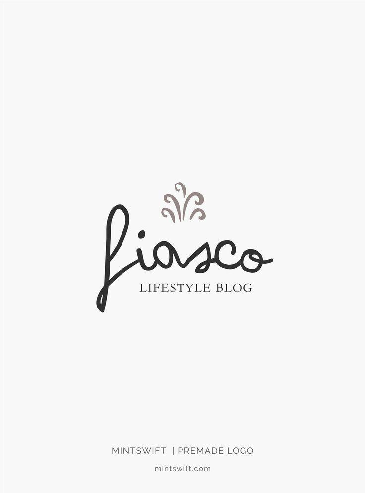 £40 | Fiasco Premade Logo Design | MintSwift