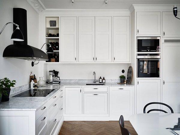 Kleine küche küchen design ideen für die küche kompakte küche kücheneinrichtung traumküchen strandhaus küchen küche und esszimmer wir lieben es
