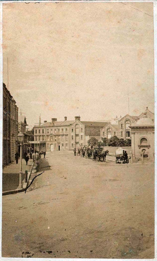 Macquarie Place in Sydney in c1869-74.Photo from State Library of NSW.A♥W