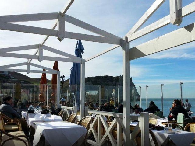 Resto panoramique Etretat - Le restaurant du Perrey