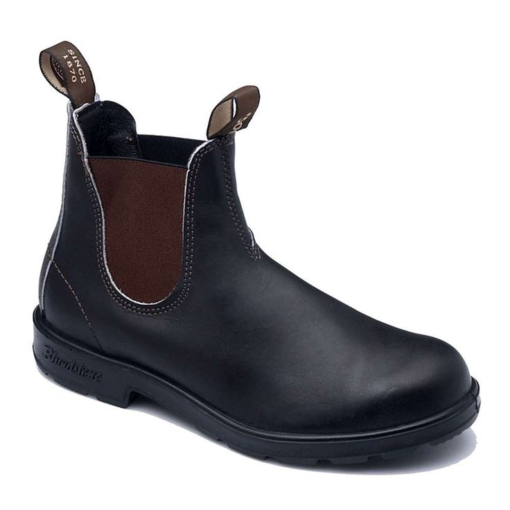 Blundstone 500 Boot - 6.5 UK - Stout Brown