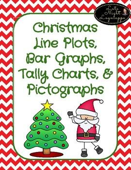 "Includes: *""Favorite Christmas Activity"" line plot worksheet (Read the filled in line plot and answer questions.) *""Favorite Christmas Song"" bar graph worksheet (Read the filled in bar graph and answer questions.) *""Santa's Gifts"""" pictograph worksheet (Read the filled in pictograph and answer"