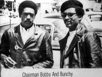 Bunchy Carter - activist & revolutionary.  (BPP)  Bunchy joined Black Panther Party  in 1967, he was given the position of Deputy Minister of Defense. In early 68' Carter formed the S. Calif chapter of  BPP.  John Huggins & Bunchy Carter, members of the BPP were shot and killed on January 17, 1969 at a Black Student Union Meeting by members of a rival organization called the United Slaves (US)  set up by the FBI under COINTELPRO .  All Power To All The People! Bobby Seale…