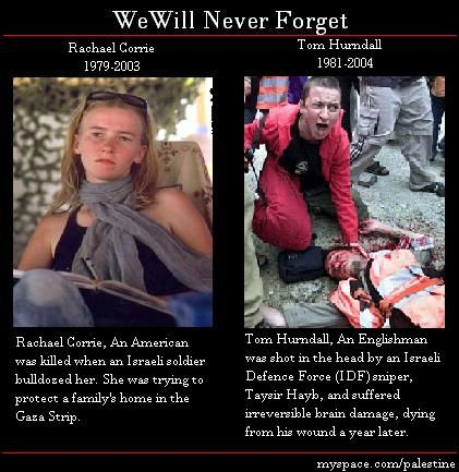 Occupiers of palestine country crashed rachel corrie to death Part 4/4 by Palestine-Wants Peace Not Wars, via Flickr