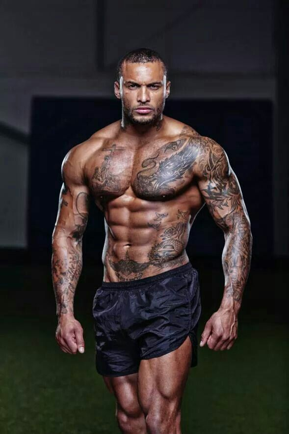 David McIntosh  - 2018 Dark brown hair & chic hair style.