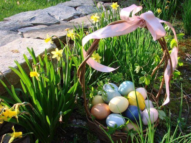 21 best Velikonoční výzdoba zahrady images on Pinterest Easter - gardinen für küche