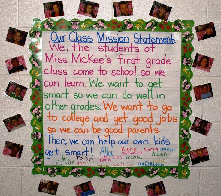 Mission Statement - Thanks Kristy :)