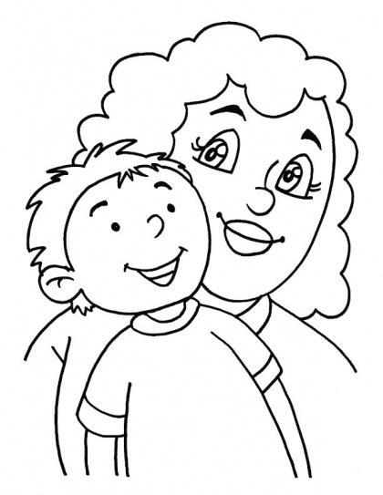 God could not be every where, so He created Mothers coloring page | Download Free God could not be every where, so He created Mothers coloring page for kids | Best Coloring Pages