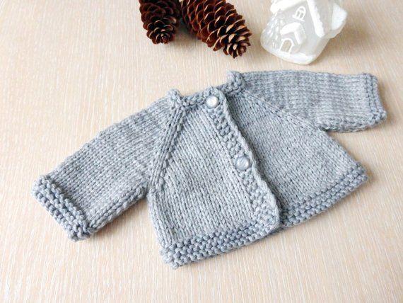 size 0 to 6 months Vintage Baby Girl Teddy Bear Appliqu\u00e9 Cardigan Knit Sweater