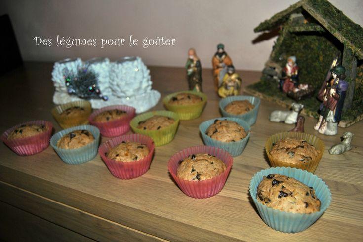 Muffins citrouille et chocolat