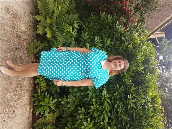 A sewing pattern review for Jennifer Lauren Laneway Dress.
