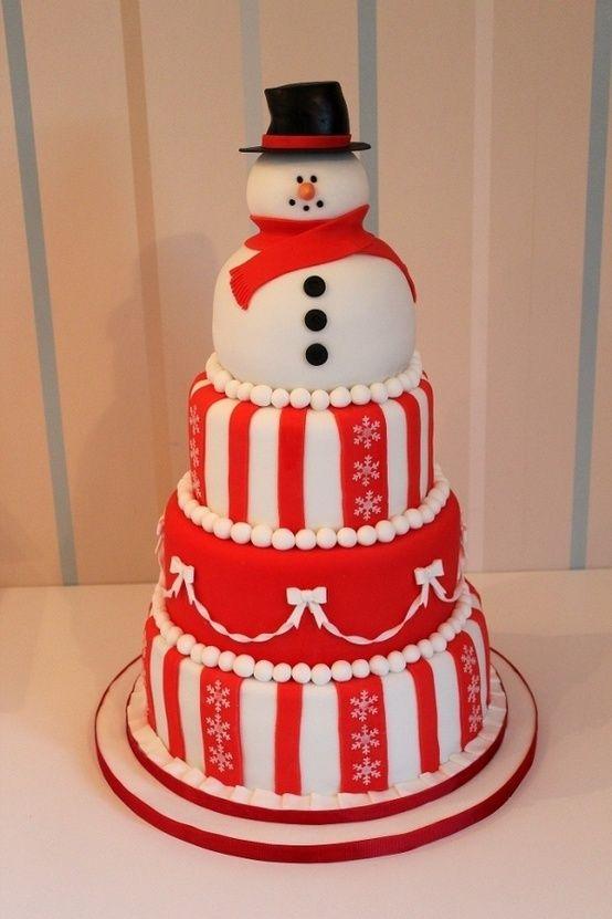 Magnifique gâteau de Noël