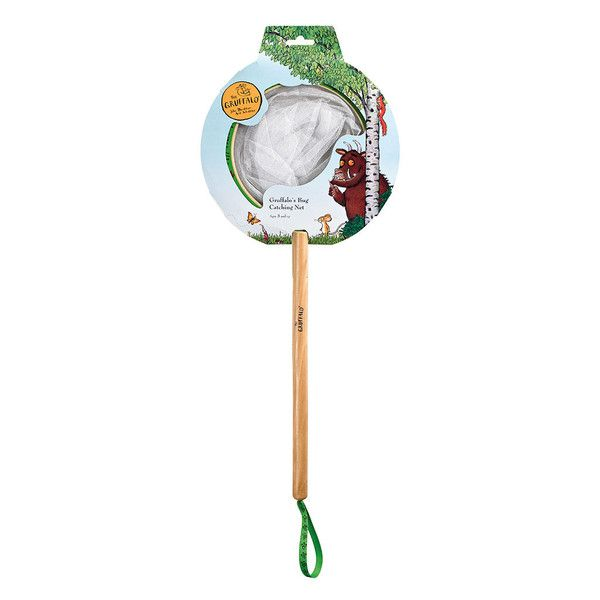 Little children love watching creepy-crawlies - almost as much as they do the Gruffalo! Use the superb wooden Gruffalo Catcher to net ladybirds, caterpillars an