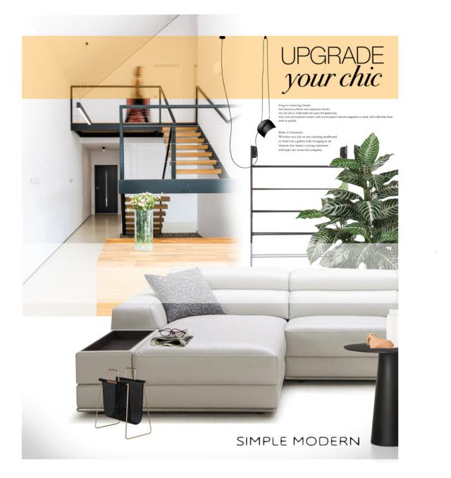"""""""Step it up!"""" by laste-co ❤ liked on Polyvore featuring interior, interiors, interior design, home, home decor, interior decorating, GO Home Ltd., Nearly Natural, Moooi and Flos"""