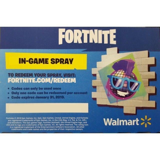 FORTNITE Walmart Exclusive