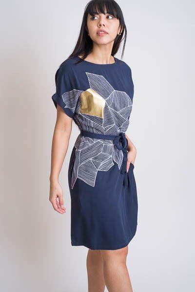 Foil Skitse Dress