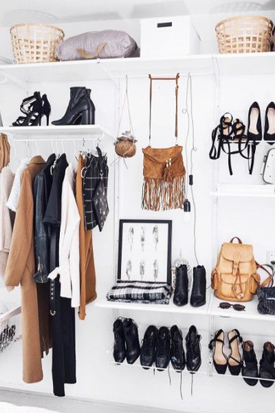 Don't Forget Presentation - How To Make Your Exposed Closet Look Elevated - Photos