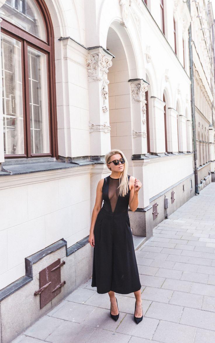 P.S. I Love Fashion // Black OOTD