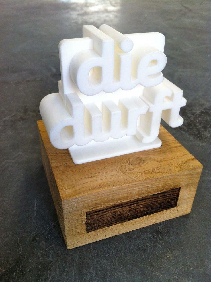 3D Printed Trophy - Die Durft - Twikit Specials