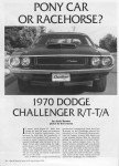 SIA Flashback – Pony Car or Racehorse? 1970 Dodge Challenger R/T-T/A