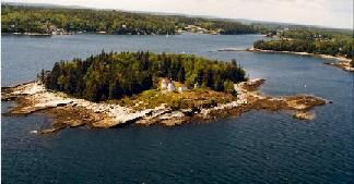 Burnt Island, Boothbay Harbor, Maine