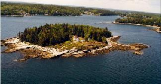 Burnt Island, Boothbay Harbor, Maine