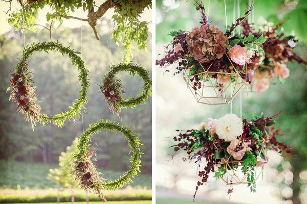 Decoración de boda geométrica #bodas #ElBlogdeMaríaJosé #DecoraciónBoda #TendenciasBoda #BodaGeométrica