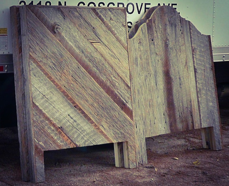 Barn Siding Headboards Reclaimed Barn Wood Pinterest