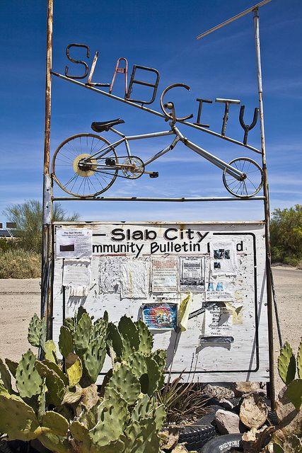 Slab City, California