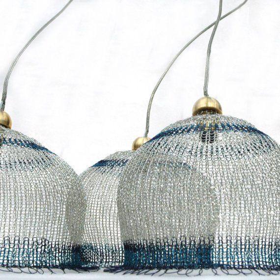 wire handmade lampshade