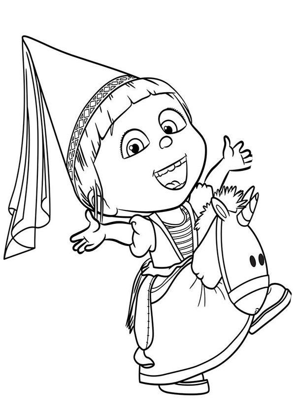 Dibujo de Gru (mi villano favorito) para imprimir y colorear (15