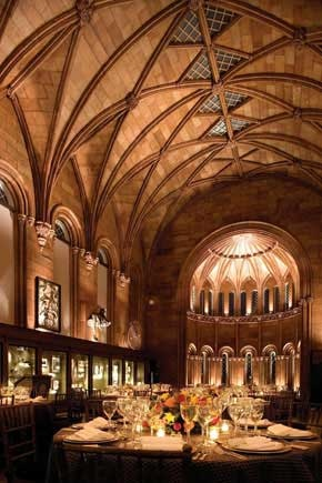 The West Wing of the #Smithsonian Institution's #Castle, originally designed to serve public functions, was converted to a #restaurant in the early 1960s when it was named The #Commons. After this latest renovation, The Commons is now restored to a glorious exhibition space and special-events area.