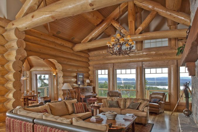 1000+ Ideas About Log Cabin Plans On Pinterest
