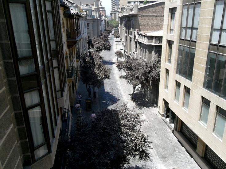 Rua secreta, Santiago do Chile, Chile