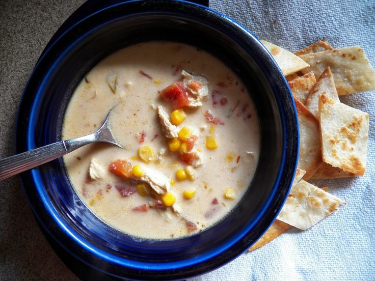 Crock Pot Chicken Enchilada Soup | Food Related Things To Try | Pinte ...