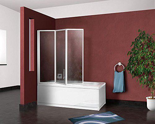Box parete vasca doccia sopravasca cm.133/134,pannello